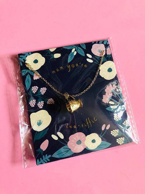 Tea-riffic Necklace