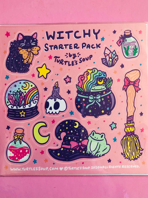 Witchy Starter Pack Stickers
