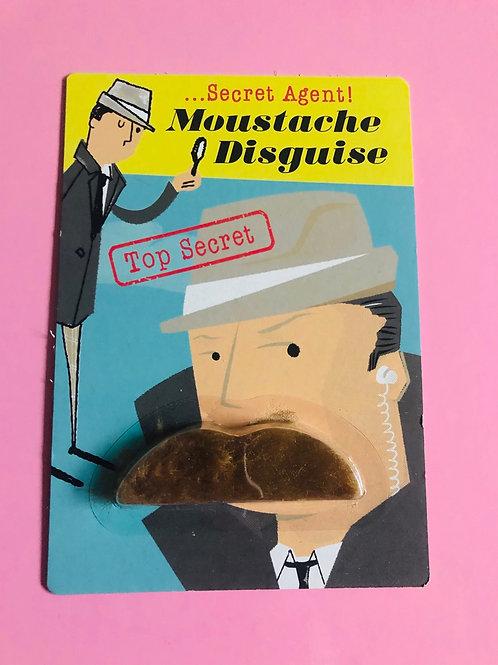 Moustache disguise