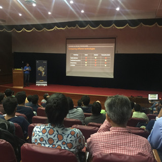 Incrypt was an Outreach Partner for Zooko Wilcox's Talk in BLR - March 2018
