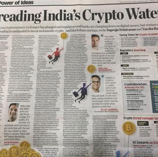 Economic Times Feature - March 2018