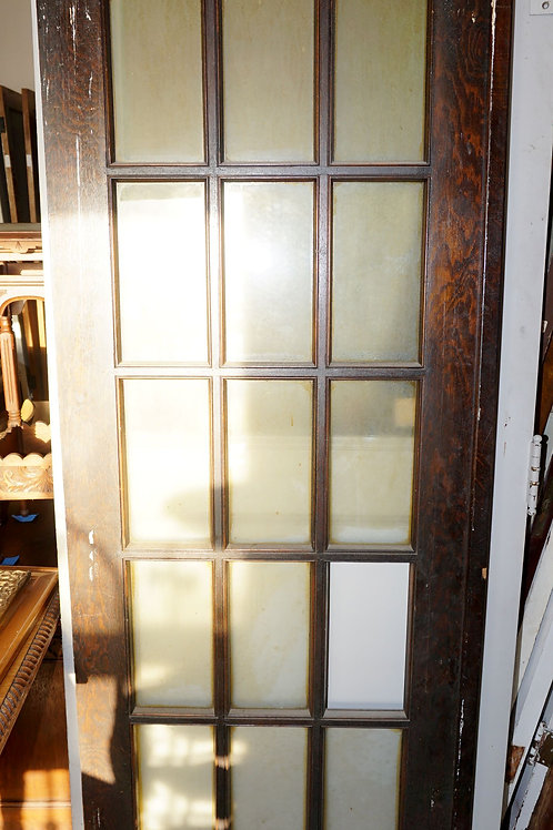 15 Lite Single French Door