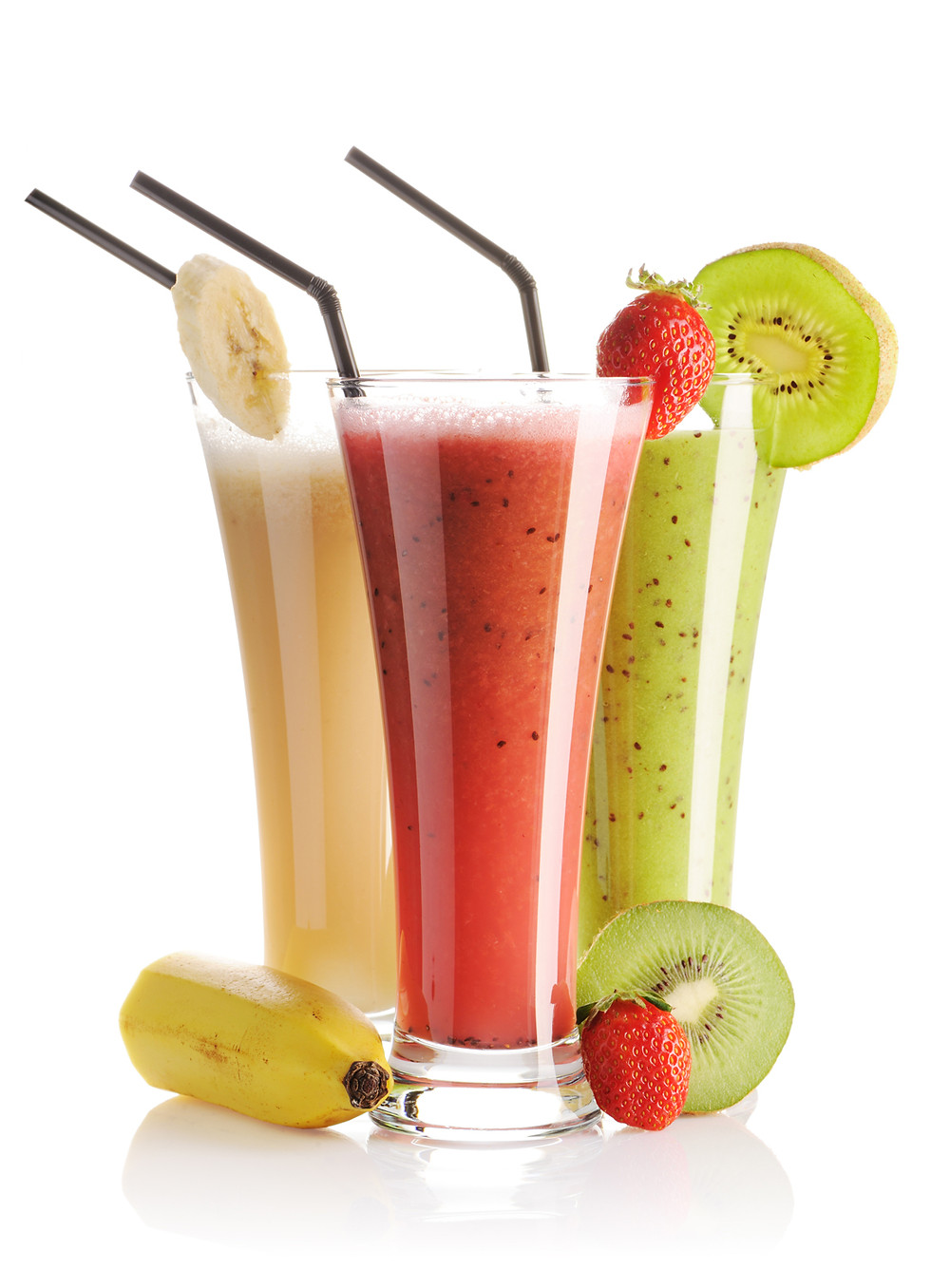 Breakfast smoothies are a healthy way to start the day.