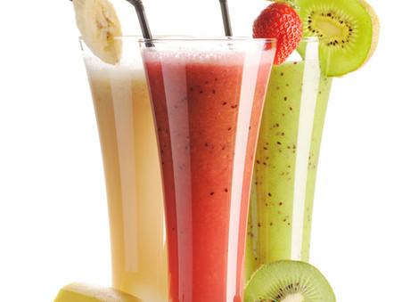 Bringe Farbe in dein Leben mit Frucht- und Gemüse-Smoothies