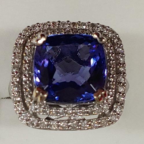 Ladies Tanzanite Ring