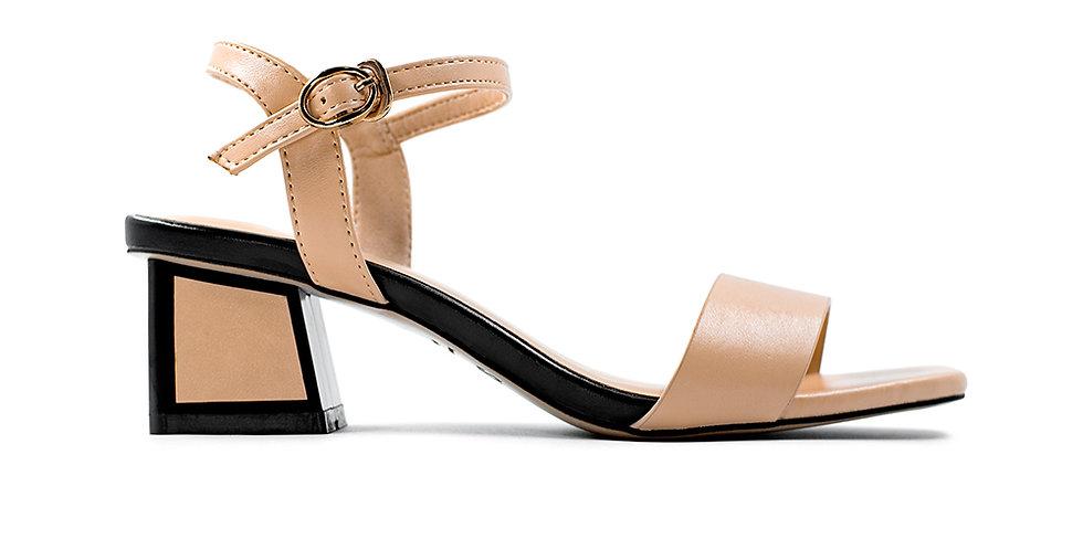 Giày Sandal Gót Vuông Sulily