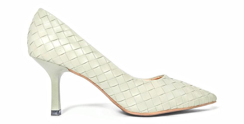 Giày Cao Gót Công Sở 6cm Đệm Mút Sulily màu mint