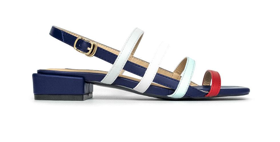 Giày Sandal 4 Quai Gót Vuông 3 phân Sulily