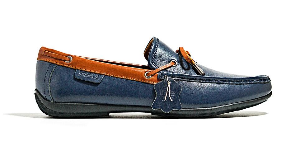Sale 9.9 - Giày Loafer Da Dây Nơ Schulz