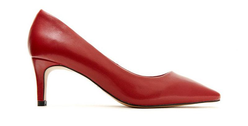 Giày Cao Gót Sulily Da Mờ 6cm