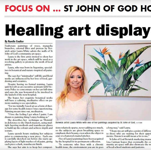 St John of God Inaugural ArtSpace Exhibition