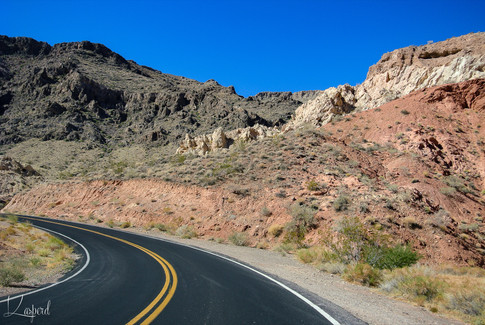 En route vers Valley of Fire