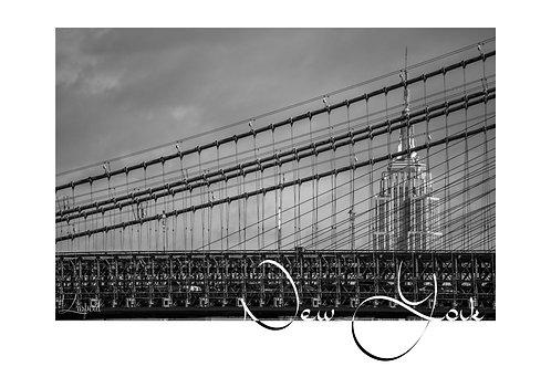 Empire State Building & Manhattan Bridge