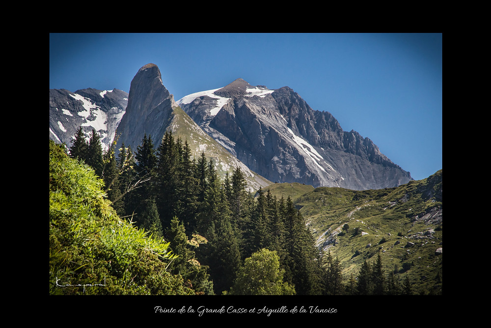 Grande Casse montagne sommet Aiguille de la vanoise Pralognan la vanoise