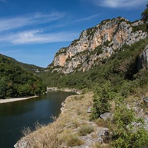 Rocher de la Cathédrale - Gorges de l'Ardèche