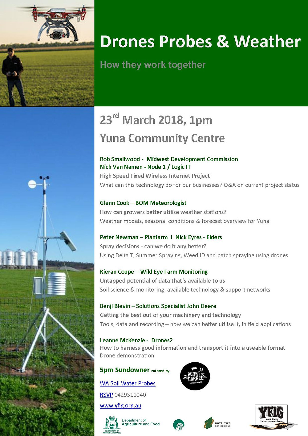 Weather Data Drones & Technology Event