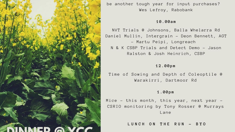 YFIG 2021 Spring Field Day, the year to remember