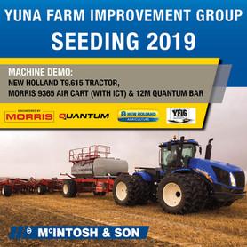 McIntosh supporting Yuna Community Crop with seeding demo
