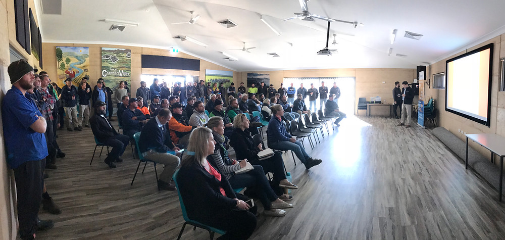 100 people turned up to the 2018 YFIG Spring Field Day