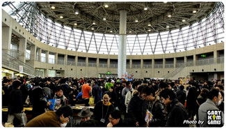 'The DOME' is sold out only in 90 min at the Osaka game market