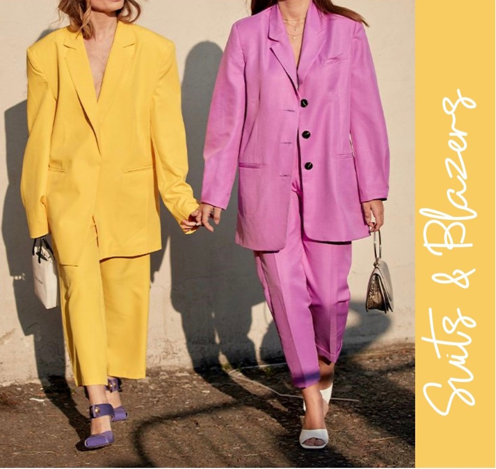 Nina Victoria Personal Stylist Surrey talks Spring Summer key trends and how suits will be a great buy for your capsule wardrobe