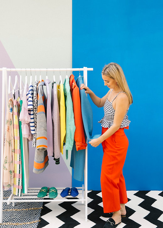 Nina Victoria Persoal Stylist wardrobe detox wardrobe edit declutter capsule wardrobe