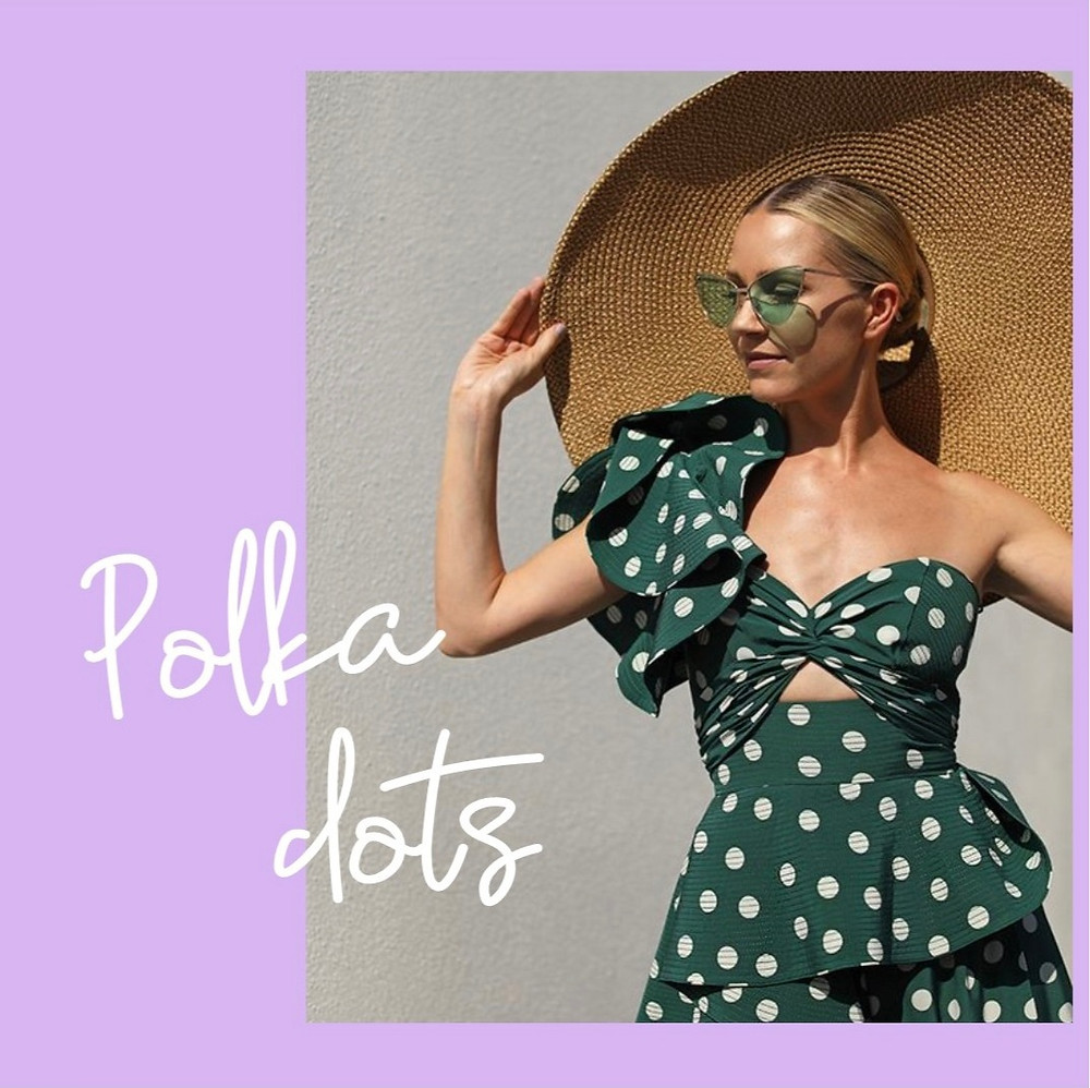 Nina Victoria Personal Stylist talks Spring Summer 2020 Key trends and how polka dots should be part of your capsule wardrobe