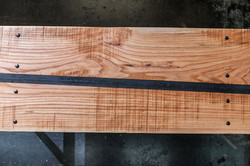 red oak and metal 04