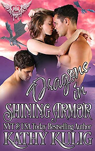 Dragons in Shining Armour by Kathy Kulig