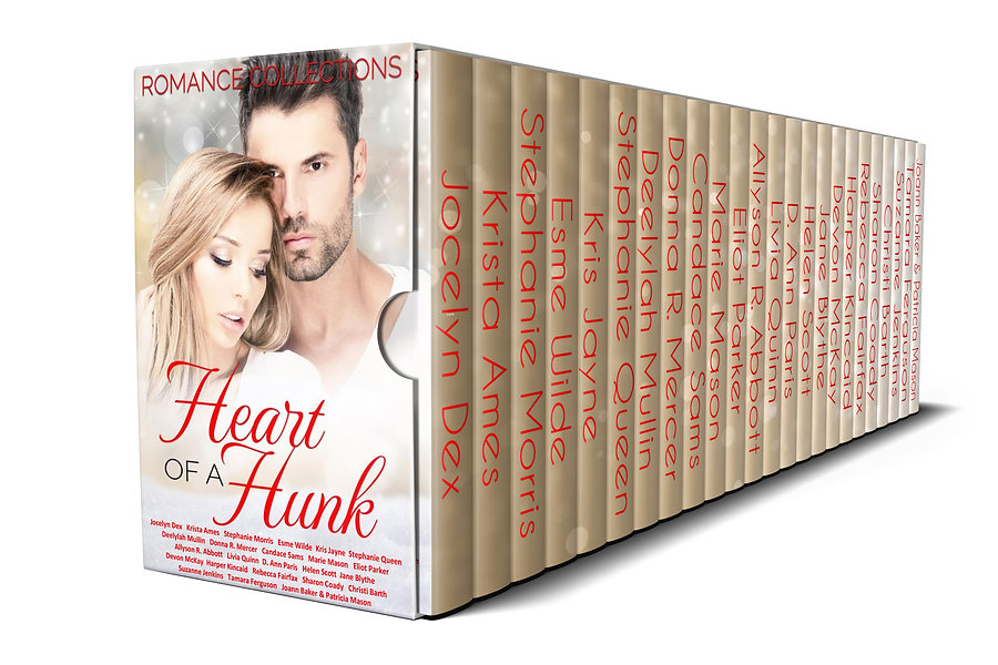 Heart of a Hunk 3D white background righ
