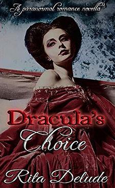 Draculas Choice by Rita Delude book cove