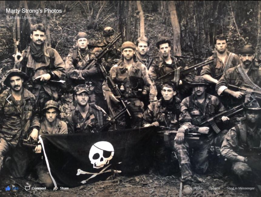 SEAL Team Four Foxtrot Platoon 1989 - 19