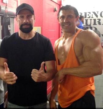 John Travolta and Mike