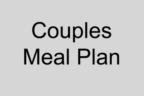 Couples Meal Plan