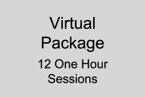 Virtual Package 12 Hours Sessions