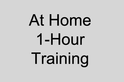 At Home - 1 Hour Training