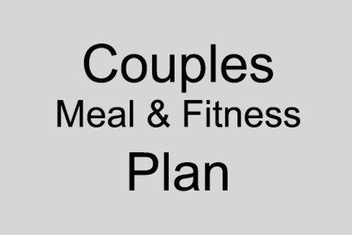 Couples Meal and Fitness Plan
