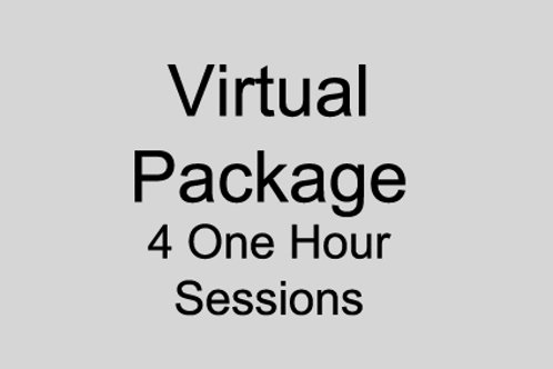 Virtual Package 4 Hours Sessions