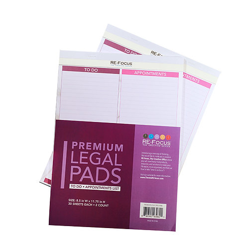 To-Do List Legal Pad, 2 pack