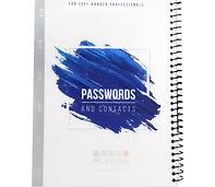 Left-Handed Password Keeper Book