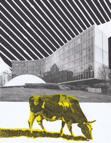 La vache et Niemeyer 2