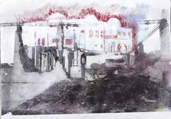 Ruines de la mosquée rouge