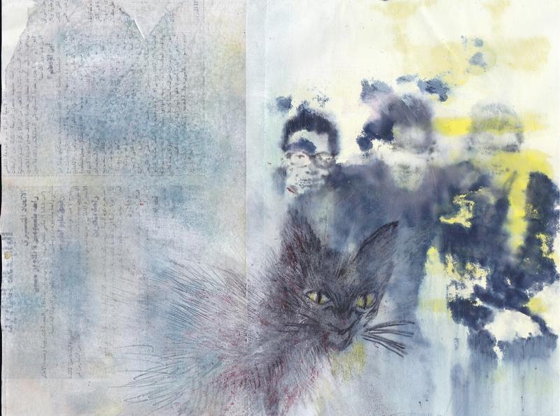 Les 3 copains et le chat