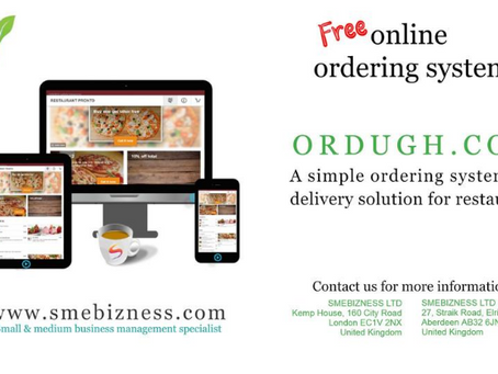 Online Ordering System: www.ordugh.com