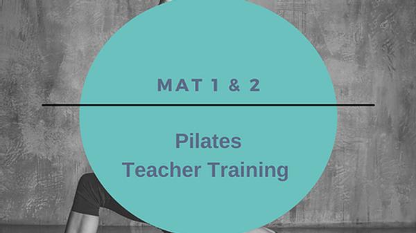 Pilates Mat 1 & 2 CPD