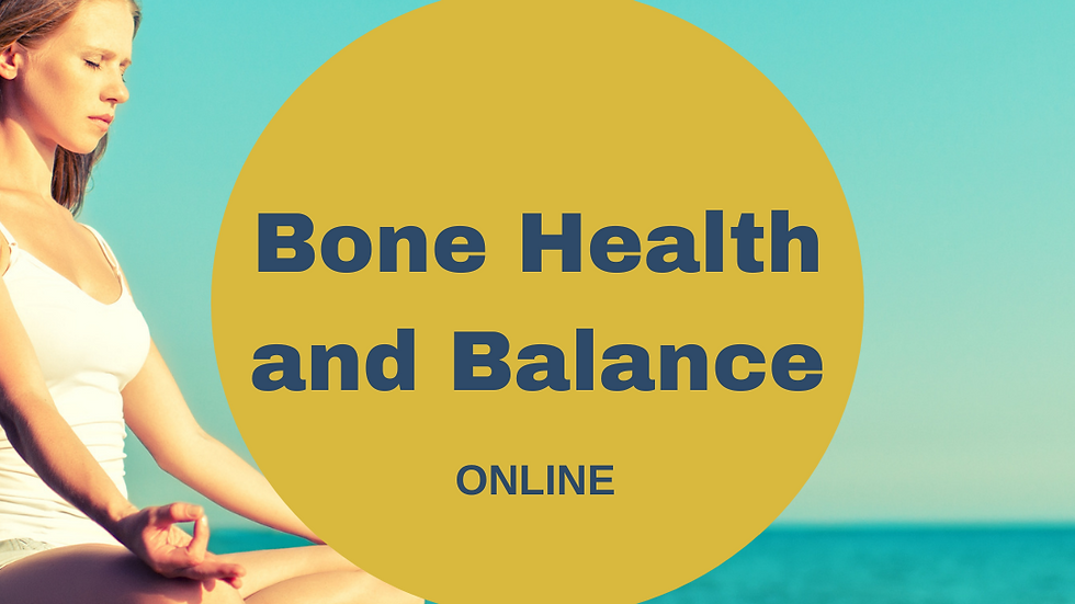 Bone Health and Balance