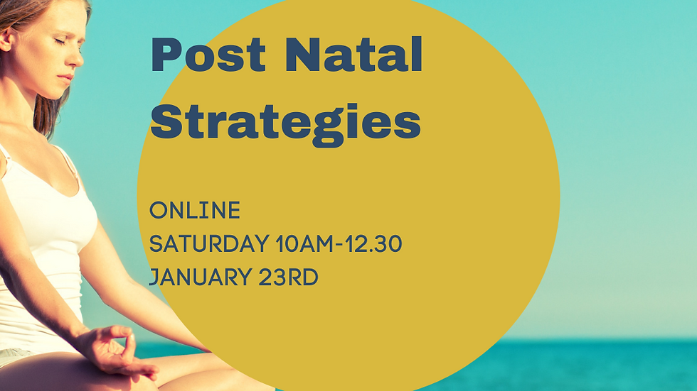 Post Natal Strategies