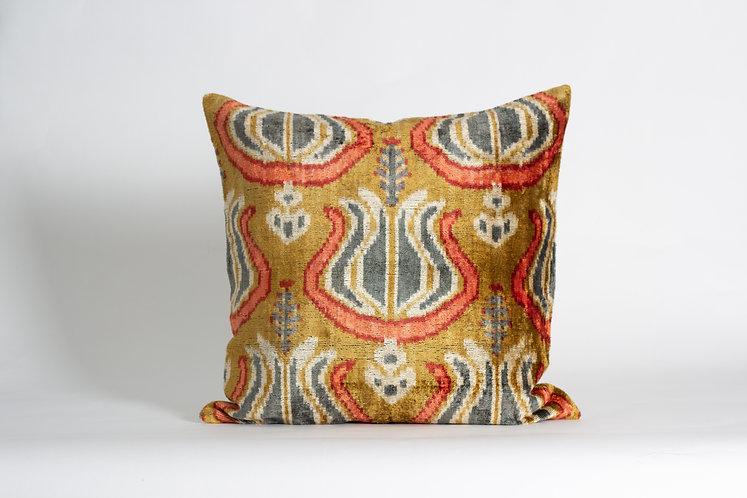 Goldenhorn Velvet Cushion