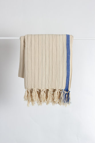 Drama Blue Turkish Towel