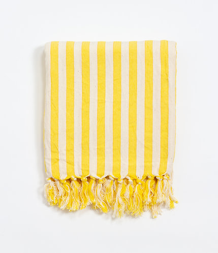 Girit Yellow Turkish Towel